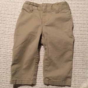 NWOT GAP Baby khaki pants